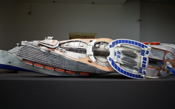 3D Printed Noah's Arc Consists of 100,000 Pieces