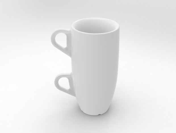 3D Printed Double Espresso Cup
