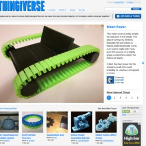 Thingiverse-launch