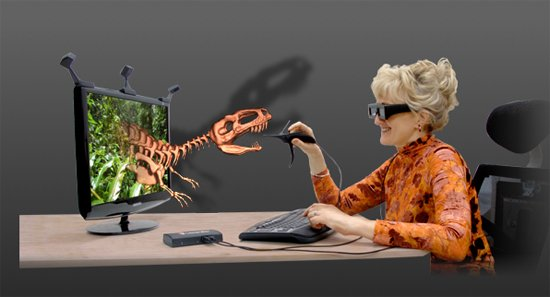 leonar3do - 3d modeling with your 3d glasses on  spectacular