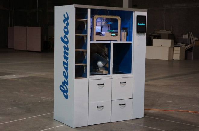 3d printing vending machine