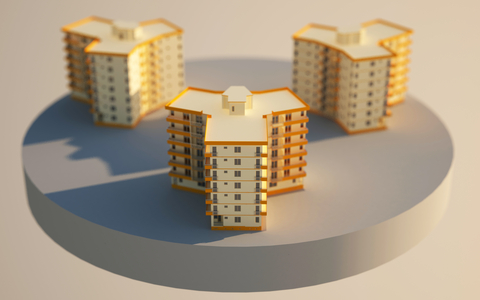http://www.dreamstime.com/royalty-free-stock-photo-3d-apartment-blocks-image15147415