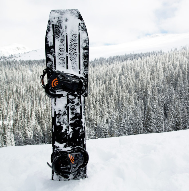 World's First 3D Printed Snowboard!