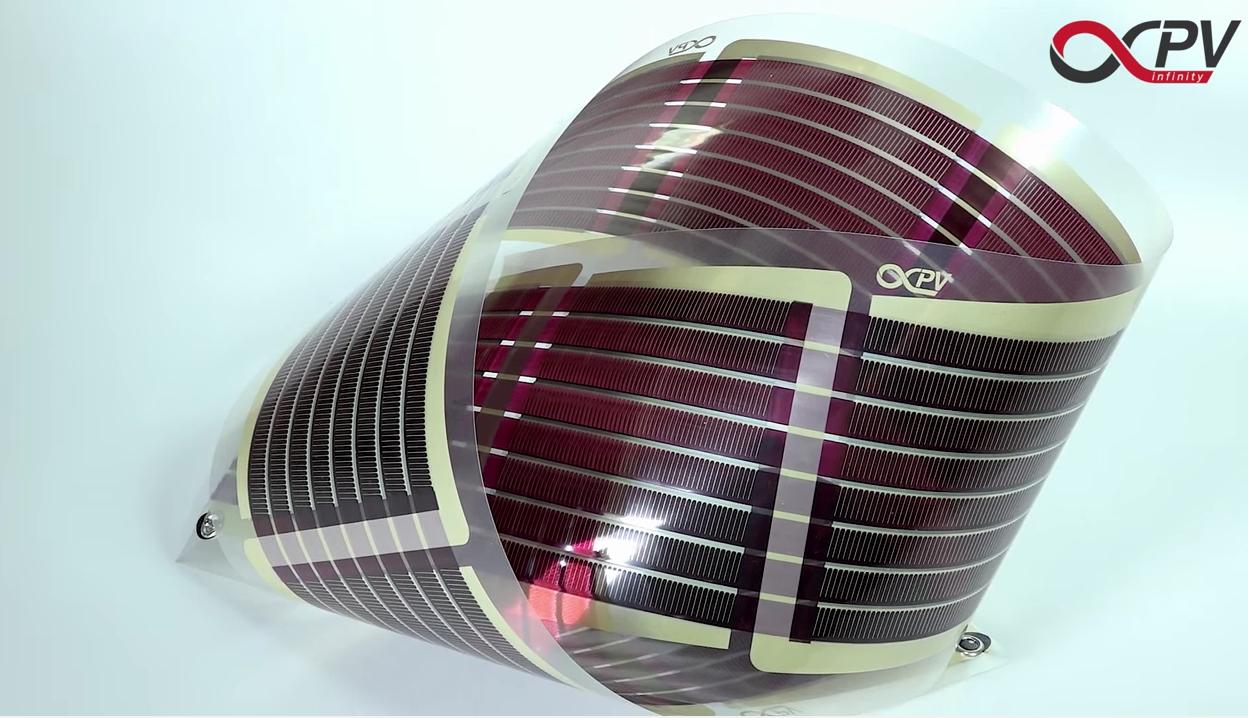 3D Printed Bendable Solar Panels