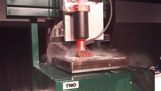 chocolate 3D Printer By TNO