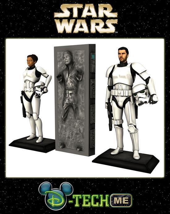 3D Printed Star Wars Disney Figure