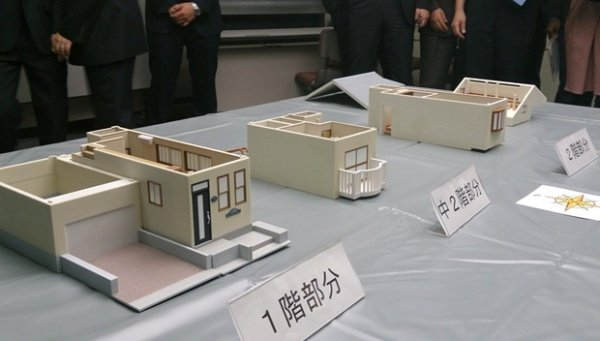 Japanese police uses 3d printing to solve a crime for 3d printed model house
