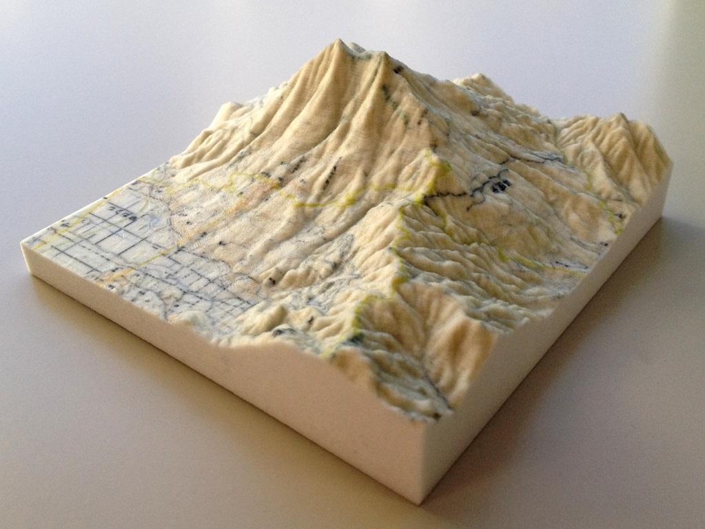 Japan Embraces D Mapping Techniques - Japan map 3d