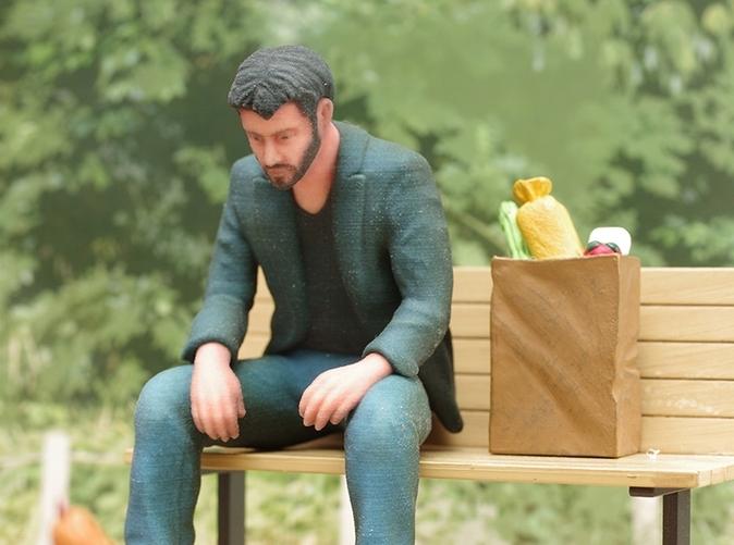 "3D Printing Meme Challenge"" – A Collection of 3D Printed Sad Keanu ... Sad Keanu 3d Print"
