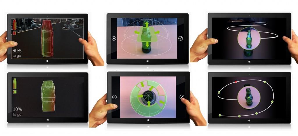 Microsoft Works on a 3D Photo App