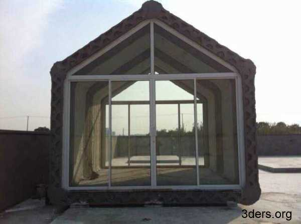 Ten houses 3d printed in a single day - Winsun decoration design engineering co ...