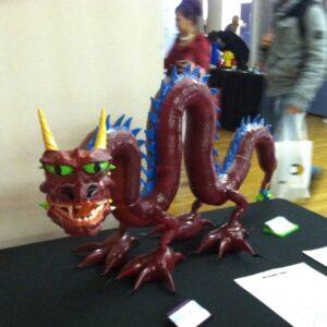 3d Printed Dragon (1)