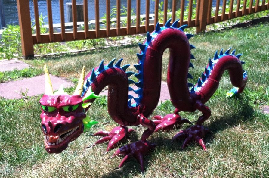 3d Printed Dragon (2)