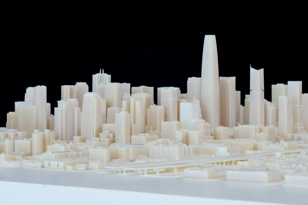 3d printing skylines a hype here 39 s a 3d san francisco Making models for 3d printing