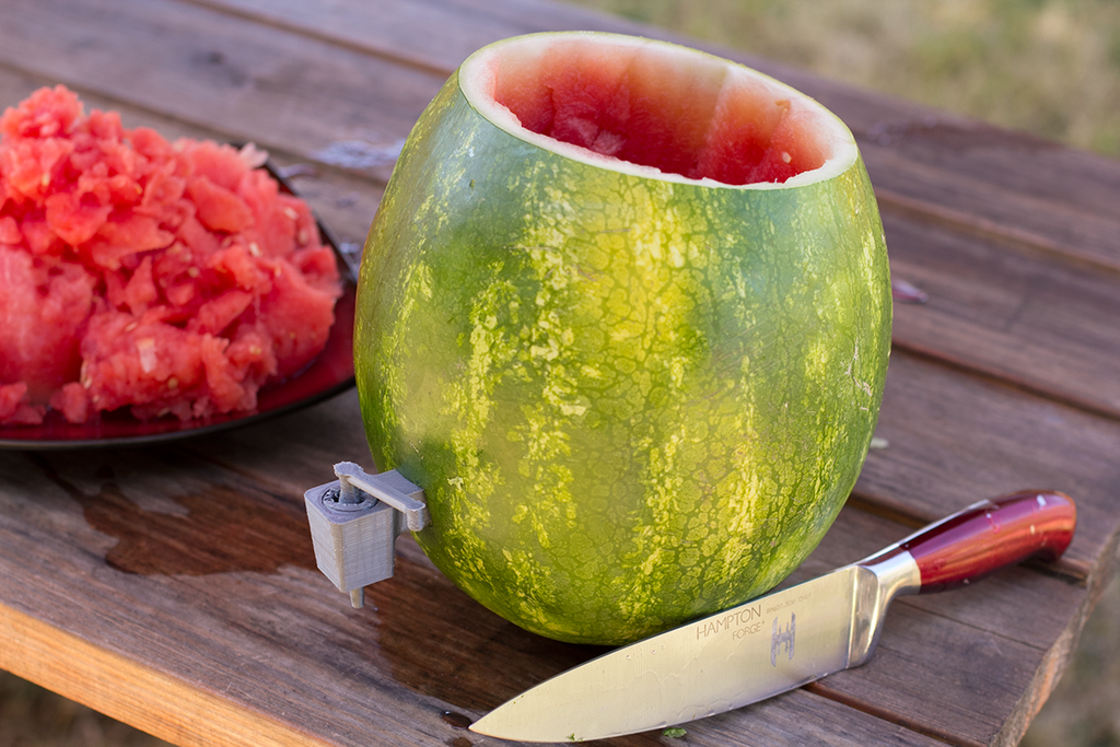 How to Create a Watermelon Keg Using 3D Printing