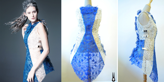 This Dress Was Made Using a 3Doodler Pen