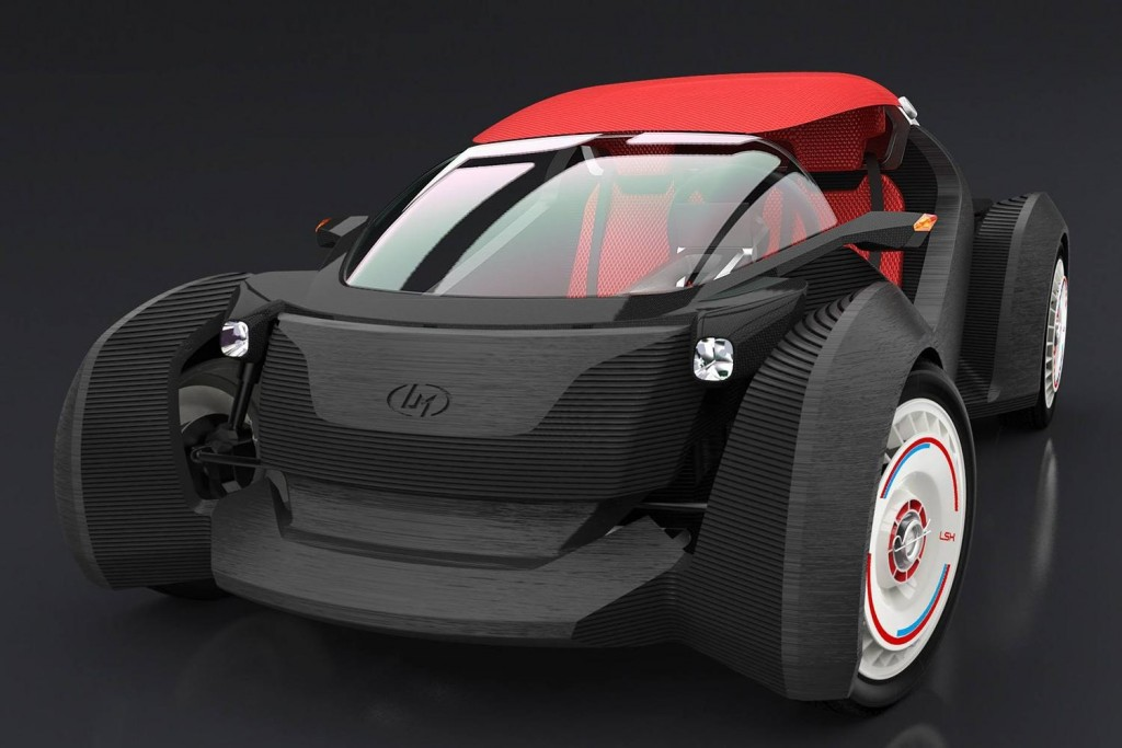 American Company 3D Printed an Entire Car in 44 Hours