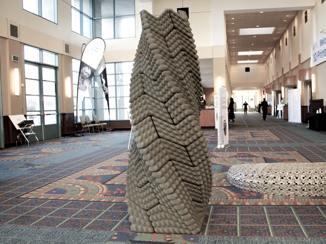 This 3D Printed Column Can Withstand an Earthquake