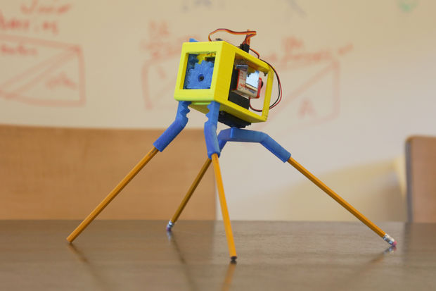 This 3d Printed Robot Can Draw