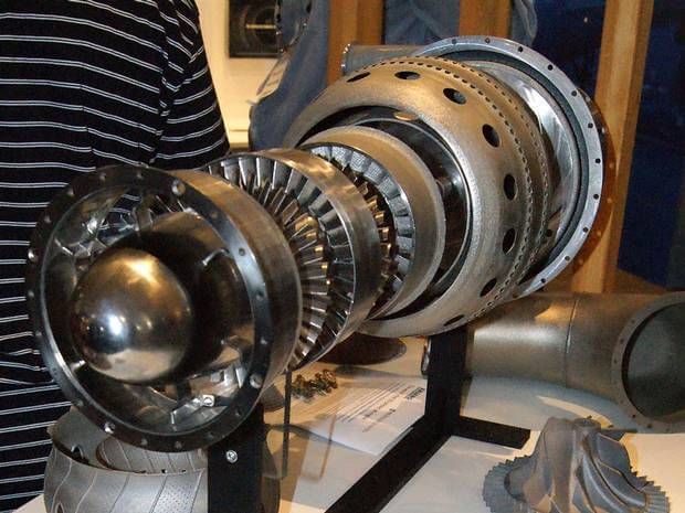 Scientists 3d Printed Two Jet Engines