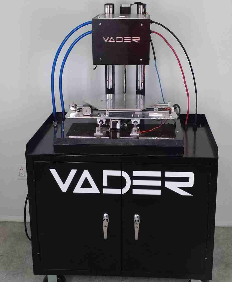 Vader Molten Metal 3d Printer 3d Printing