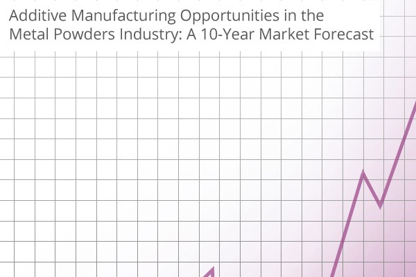 Additive Manufacturing Opportunities in the Metal Powders Industry A 10-Year Market Forecast
