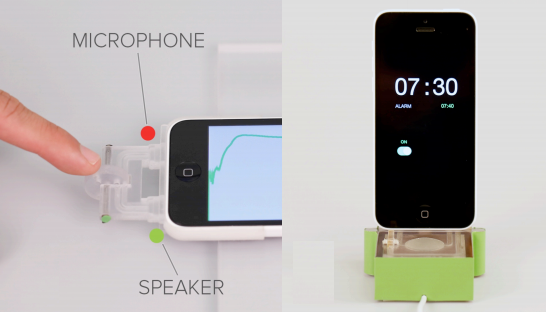 3D Printed Device Controls Smartphones with Sound Waves