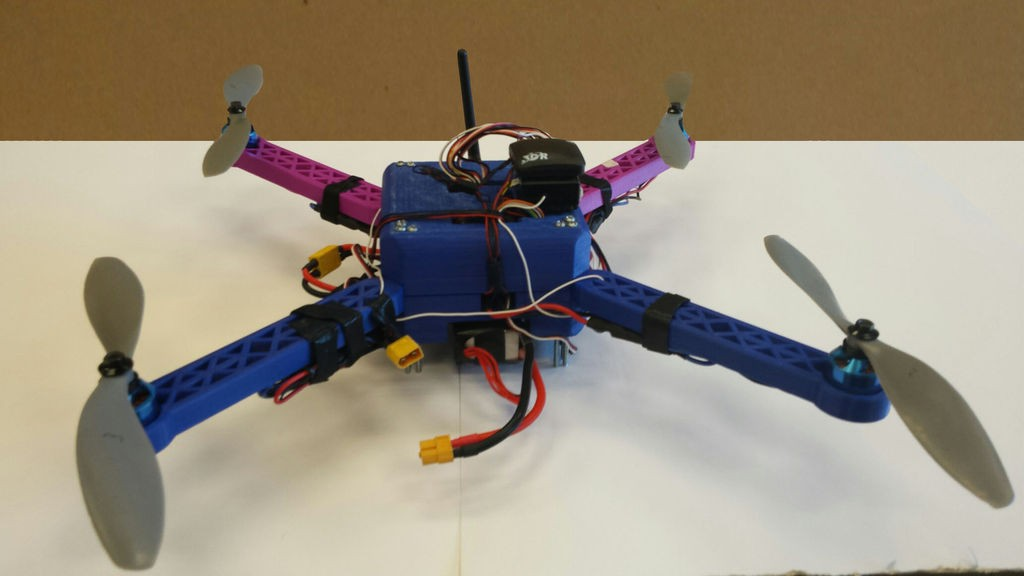 D printed quadcopter drone how to build your own