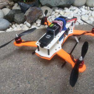 hframe 3d printed quadcopter