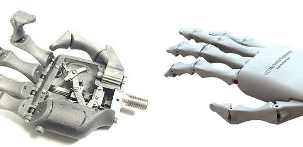 Mechanical Hand with Individual Finger Control for Amputees