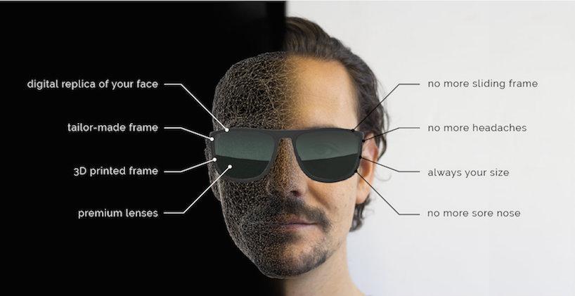 Boulton 3D Printed Eyewear