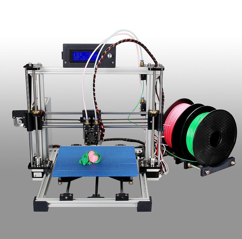 Max Micron – The First Affordable Dual Head 3D Printer With Auto Leveling and Laser Engraving Function