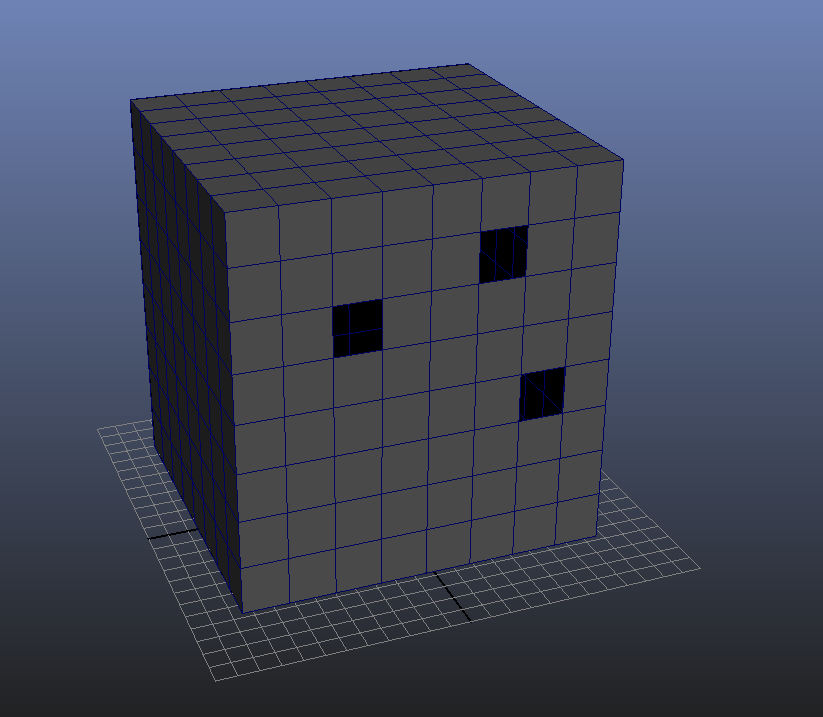 Create water-tight mesh 3D Modeling Maya