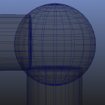 4 separate spheres and 4 separate cylinders joined 2