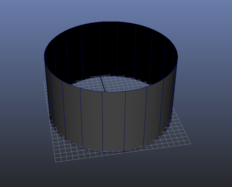 Entering Wall-thickness Value 3D Modeling Maya