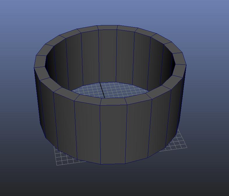 Entering Wall-thickness Value 2 3D Modeling Maya