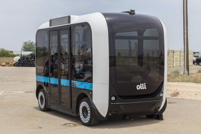 Meet Olli: The Self-Driving, 3D Printed Minibus