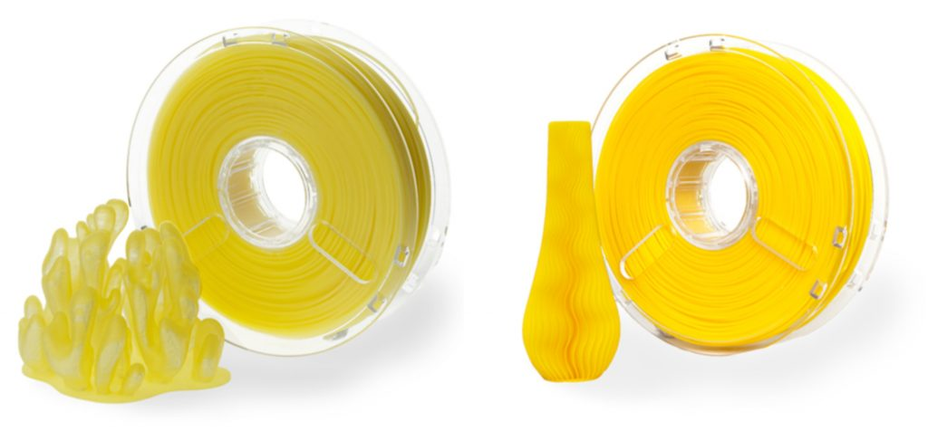 Polymaker Filament PolyPlus True Color Translucent Yellow