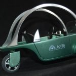 Scale model electric car