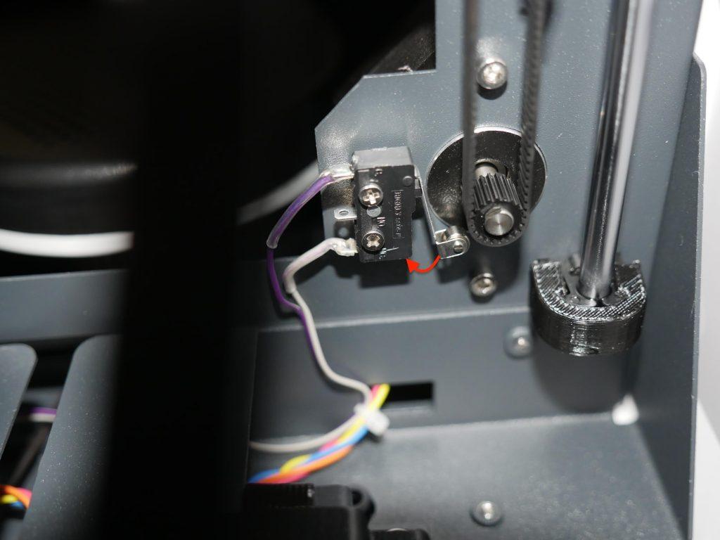 Tiertime Up Mini 2 3d printer end stop