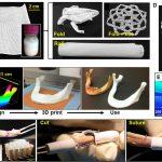 Hyperelastic bone 3d printing