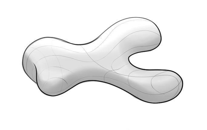 Amorphous shapes