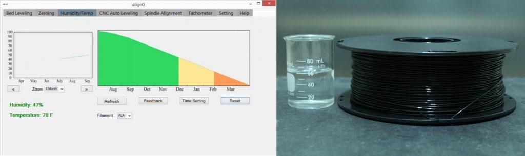 AlignG Alignment tool humidity temperature 3DPrinting.com