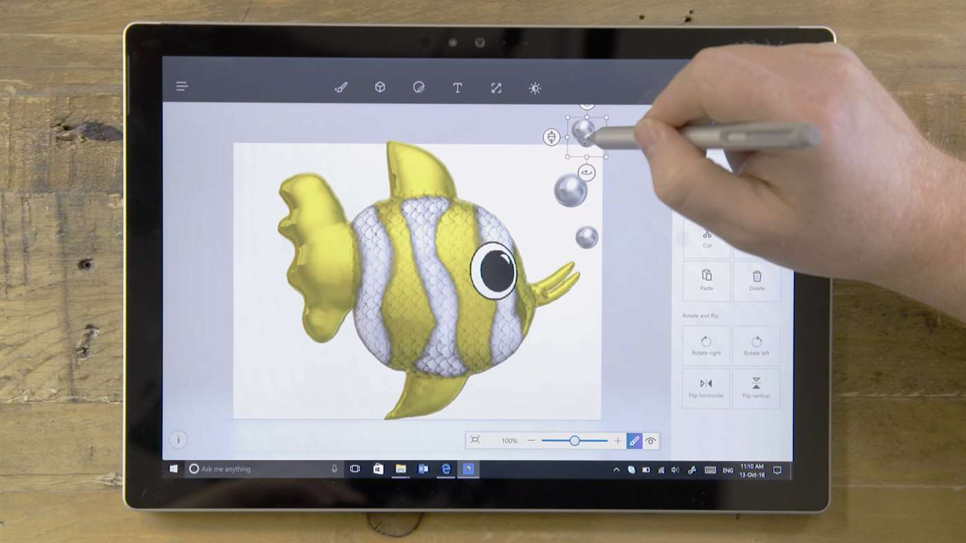 Microsoft's New 3D Paint Can Take Photos And Turn Them