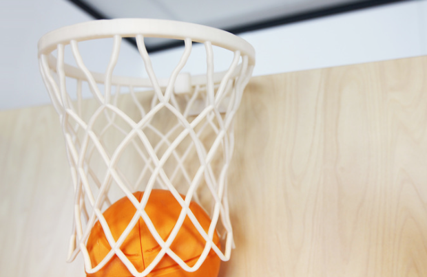 3D printed Office Basketball Set