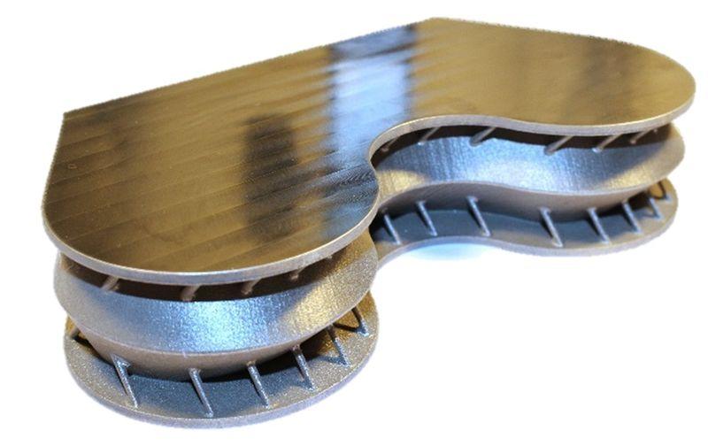 3d printed titanium aerospace part