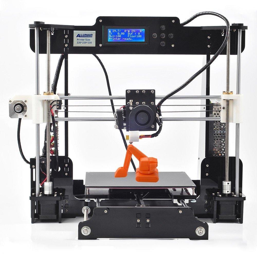 Alunar Desktop DIY 3D Printer CNC