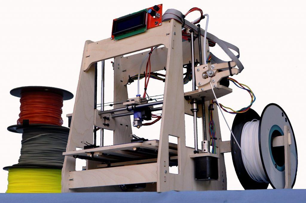 RP9v3 Deluxe DIY 3D Printer Kit