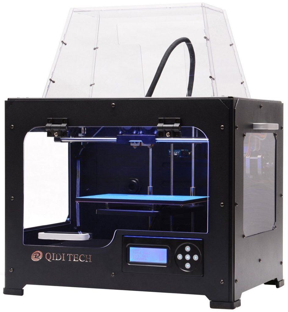 Qudi Tech Dual Extruder 3D Printer