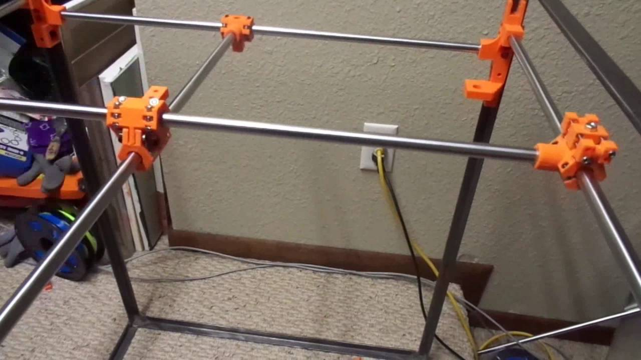 Building a 3D printer from Scratch - Electronics - Frame - Tips